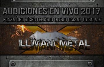 Inician audiciones en vistas al X Illimani Metal Fest