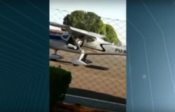 Roger Pinto: Vídeo capta al avión minutos antes del accidente