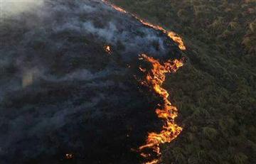Se reactivan cuatro focos del incendio en Tarija