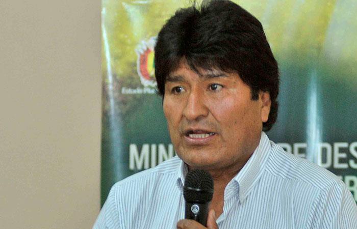 El presidente Evo Morales. Foto: ABI