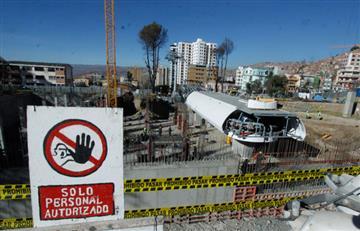 La Paz: Aplazan entrega de Línea Blanca del teleférico