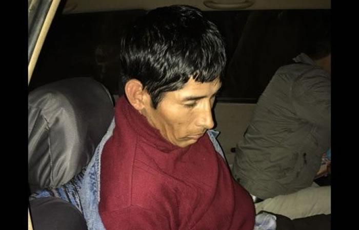 Zacarías Bañado, el hombre acusado del hecho. Foto: Twitter