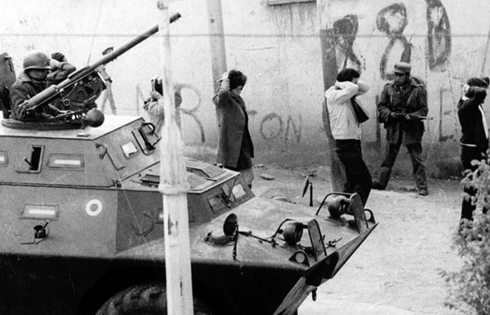 Así fue la dictadura. Foto: ABI