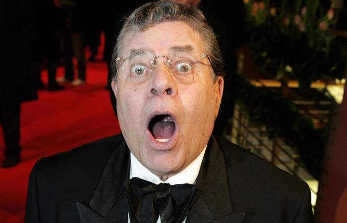 Falleció el comediante Jerry Lewis