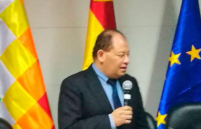 Carlos Romero, ministro de Gobierno. Foto: ABI