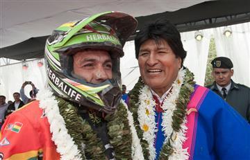 Gobierno asegura apoyo al 'Chavo' Salvatierra para el Dakar 2018