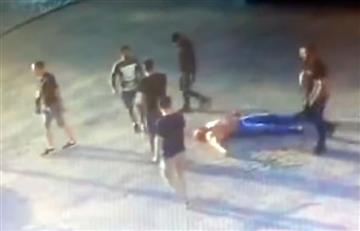 YouTube: Asesinan al campeón mundial de 'powerlifting' en pelea callejera