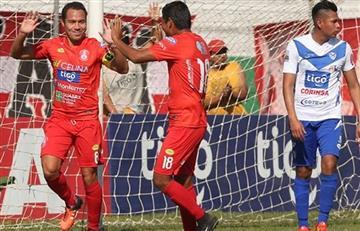 Guabirá logró esta increíble victoria ante San José