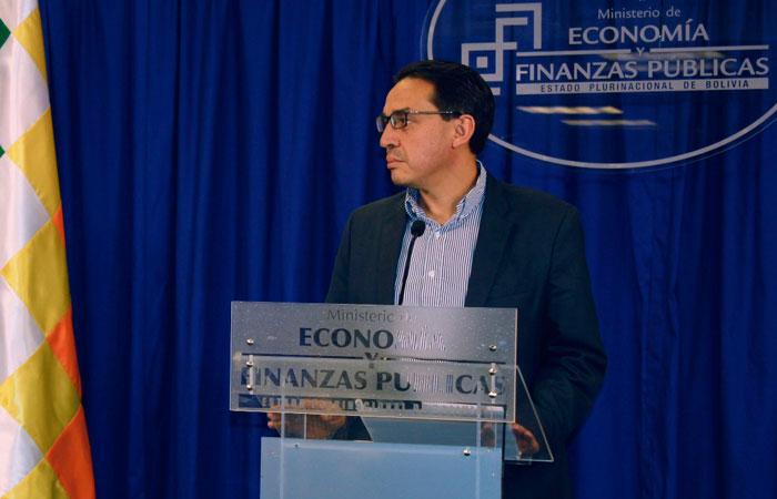 Mario Alberto Guillen Suárez, ministro de Economía y Finanzas Públicas. Foto: ABI