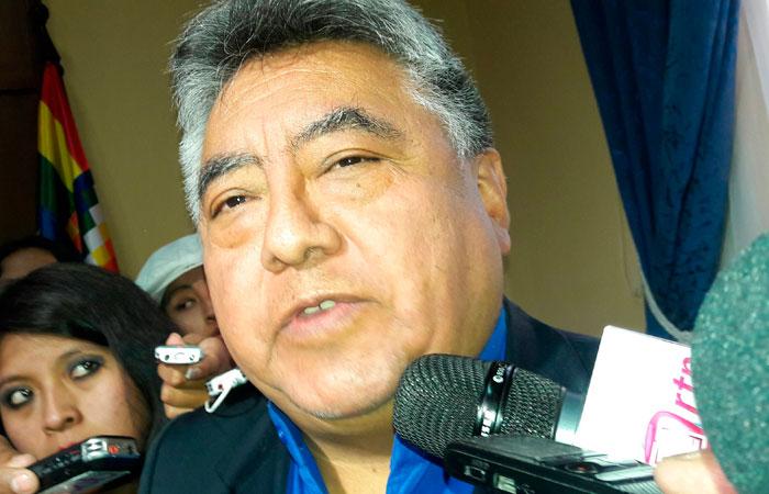 Imagen de junio de 2016, del entonces viceministro de Régimen Interior y Policía, Rodolfo Illanes. Foto. Foto: ABI