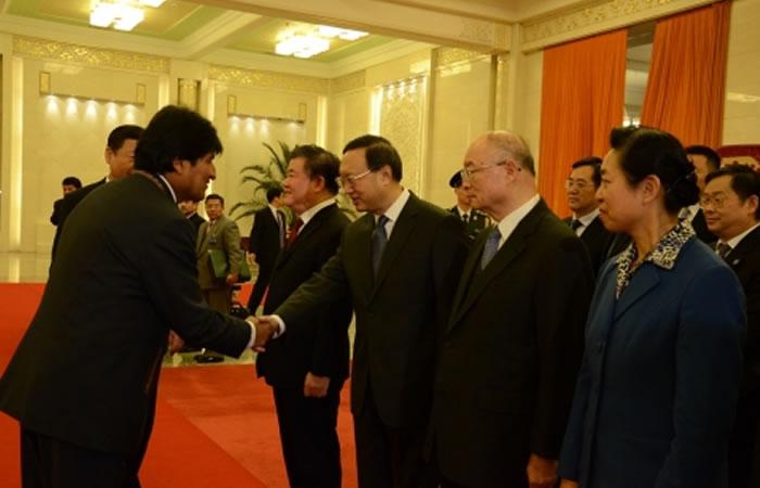 Bolivia y China perfilan acuerdo para compra venta de soja, quinua, café y carne de vacuno. Foto: ABI