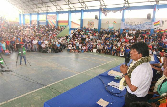 Gobierno anuncia fondo antipobreza para 84 municipios de La Paz. Foto: ABI