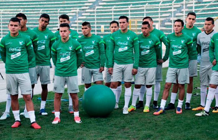 Selección de Bolivia cumple sexta jornada de entrenamiento