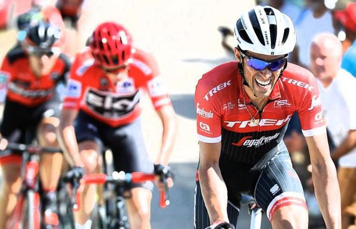 Alberto Contador: 'La etapa 11 de la Vuelta a España será una batalla'