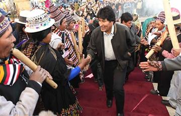 Evo Morales aprobó millonaria inversión para proyectos en Oruro