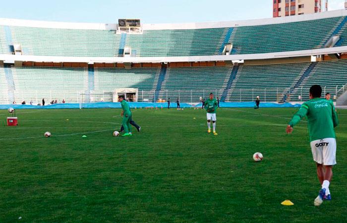 La Verde en la recta final de la preparación para el choque ante Perú