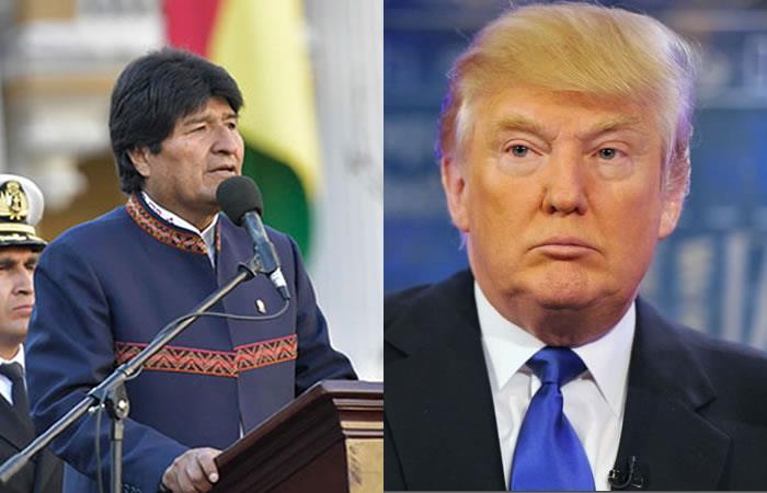 Evo Morales condenó cualquier agresión económica de EEUU a Venezuela