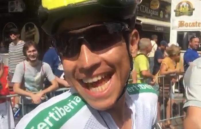Vuelta a España: Las palabras de Esteban Chaves antes de la etapa 11