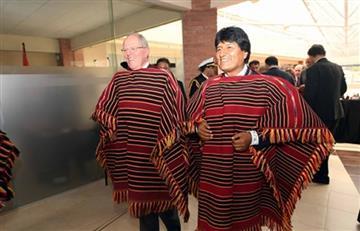 Evo Morales y las palabras que conmueven a Pedro Pablo Kuczynski.