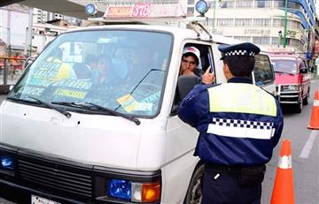 La Paz: Choferes levantarán bloqueo si les dan estas soluciones