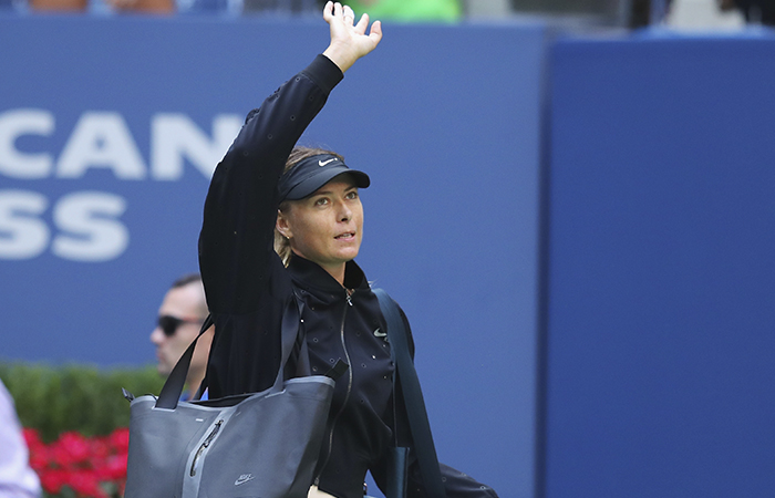 Sharapova se despide del US Open