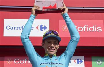 Vuelta a España: Miguel Ángel López el mejor colombiano de la etapa 15