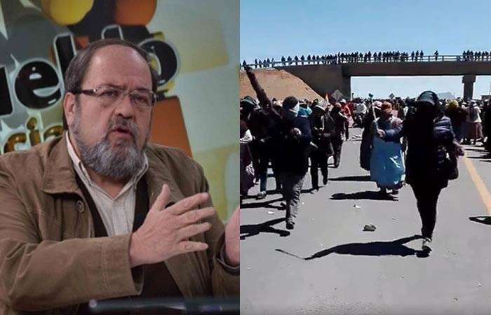Achacachi: Ministro de Educación rechaza presencia de estudiantes en movilizaciones