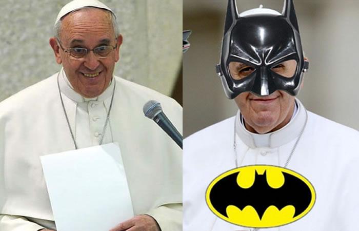 Papa Francisco. Fotos: Twitter.