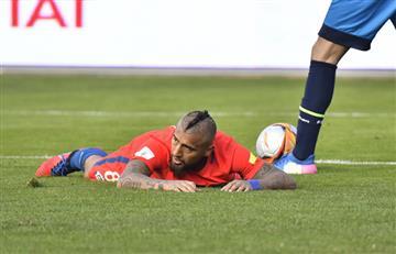 Arturo Vidal le dice adiós a la selección chilena