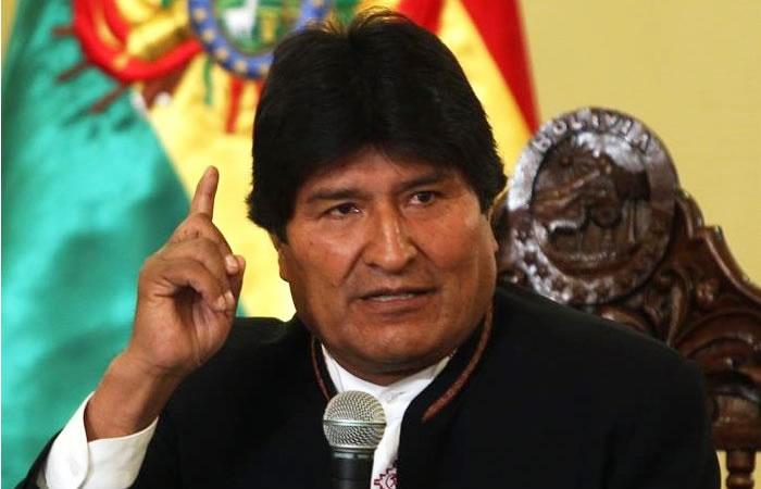 Evo Morales: Pide iniciar juicio a magistrados por caso 'Misiles Chinos'