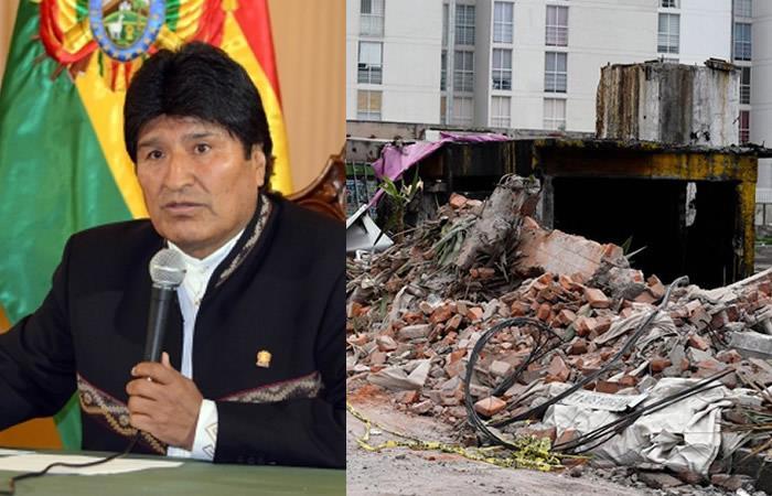 Evo Morales dedica conmovedor mensaje a México
