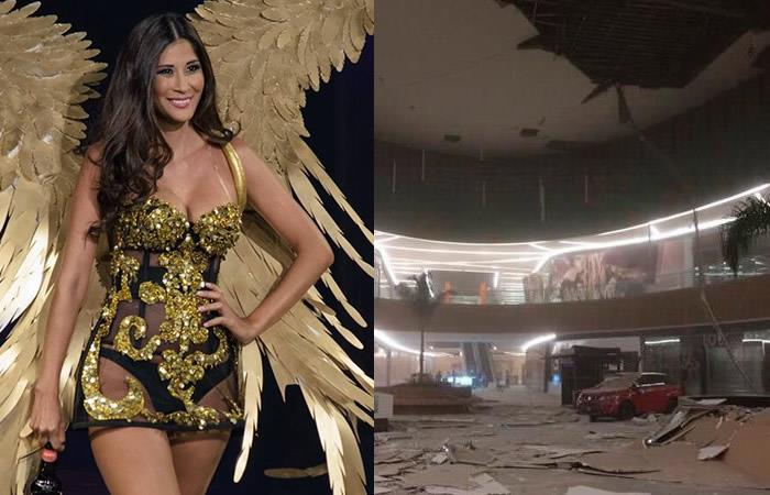 Top model boliviana relató cómo vivió el sismo en México