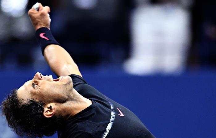 Rafael Nadal a la final del Us Open tras vencer a Del Potro