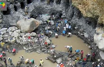 La paz: Tres mineros murieron tras derrumbe de un cerro