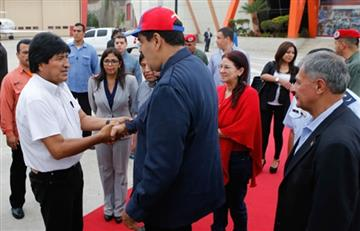 "Evo celebra ""apertura"" del diálogo en Venezuela"
