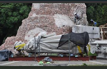 En Argentina retiran estatua Juana Azurduy que costó $us 1 MM a Bolivia