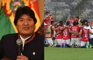 Evo Morales y el conmovedor mensaje a Wilstermann para enfrentar a River Plate