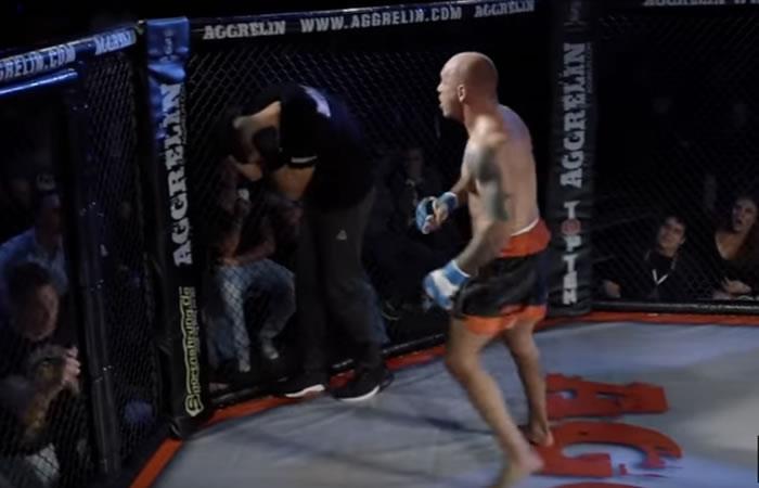 MMA: Perdió y golpeó al árbitro por no detener la pelea a tiempo