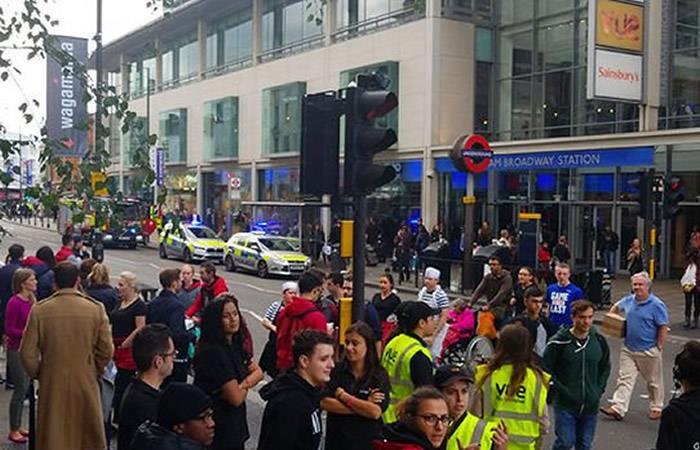 Londres: Una amenaza de bomba obligó a evacuar una estación del metro