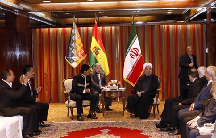 Estos son los ofrecimientos de Irán a Bolivia