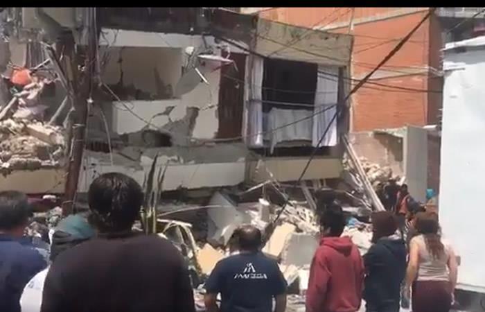 México: Terremoto de magnitud 7,1 volvió a sacudir al país