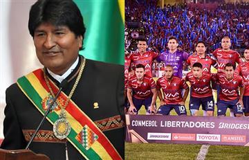 Evo Morales y el emotivo mensaje para Wilstermann