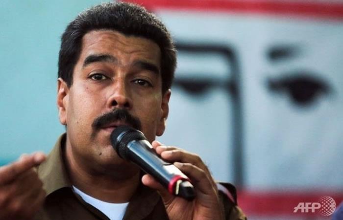 Maduro afirma que la Casa Blanca dio