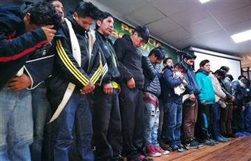 La Paz: Policía aprehendió a 24 pandilleros por robo agravado