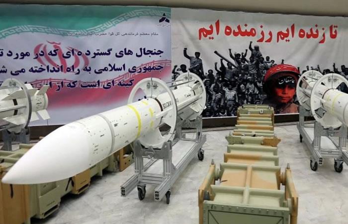 YouTube: Irán dispara su nuevo misil balístico en una prueba militar