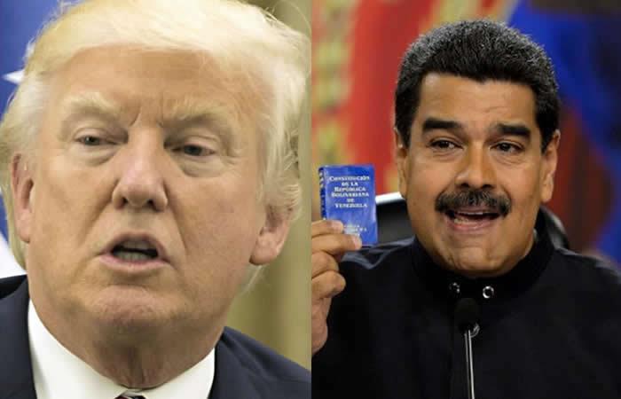 Venezuela acusa a Estados Unidos de 'terrorismo psicológico'