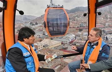 La Paz: Se consolida el teleférico más alto y largo del mundo