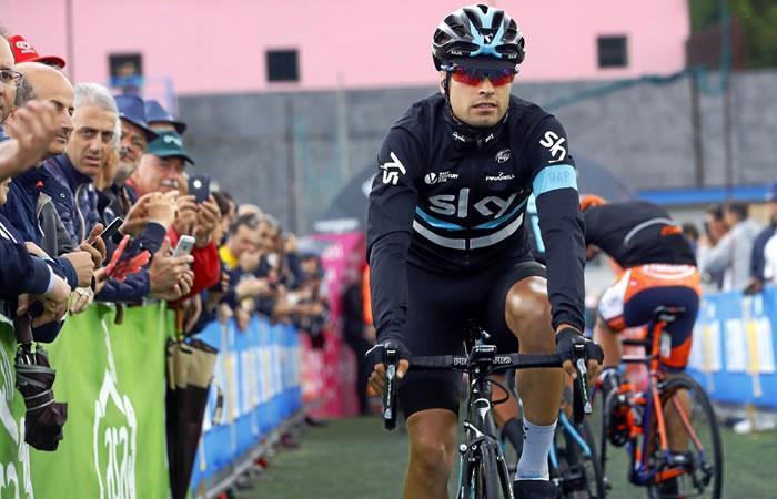 Mikel Landa habló de Nairo Quintana y del liderato en el Movistar