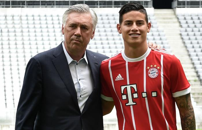 James Rodríguez y el Bayern Múnich se quedan sin DT, Ancelotti se va