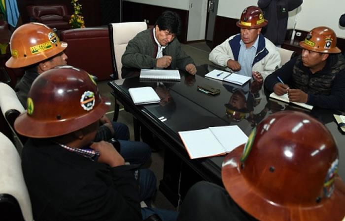 Bolivia: Así mejorarán la Ley 845 para regular el trabajo de cooperativas mineras